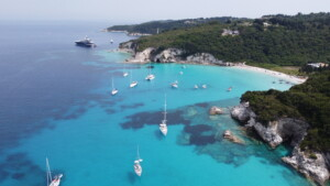 Antipaxos from above